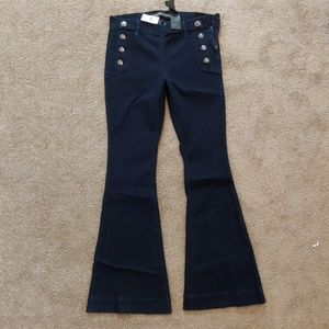 Express Belle flare mid rise jeans NWT
